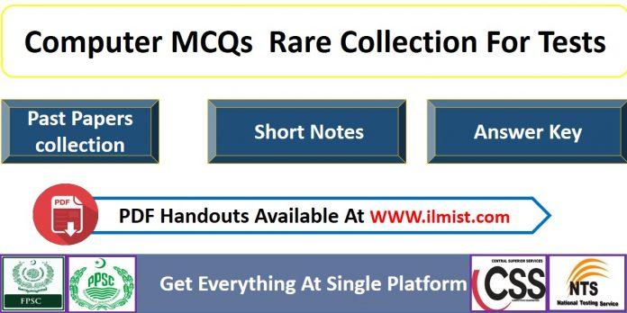 Computer MCQs PPSC