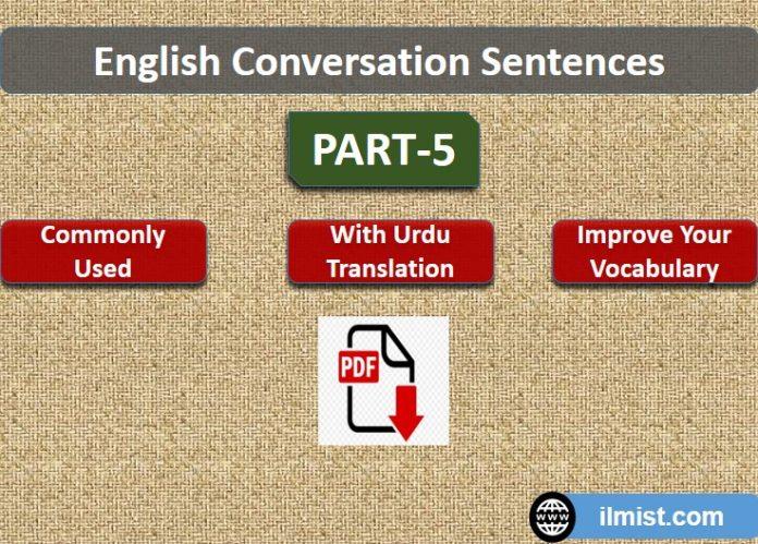 Spoken English Sentences in PDF