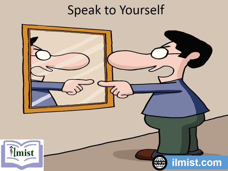 tricks to learn english,use mirror
