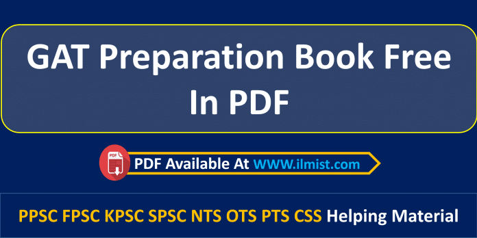 GAT Preparation Book PDF