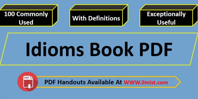 Commonly Used Idioms PDF