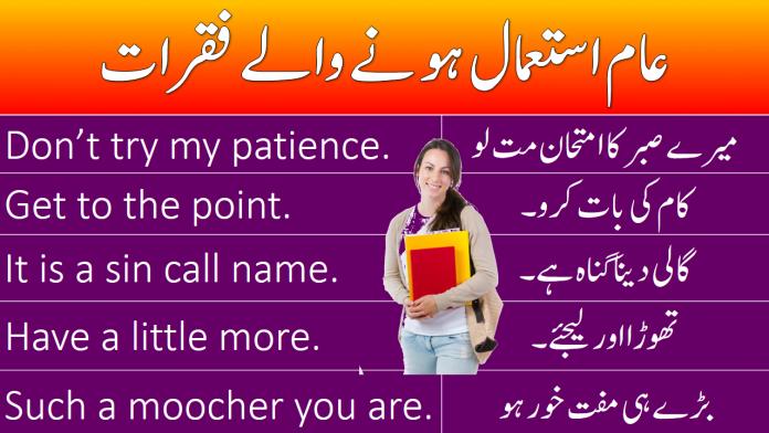 Spoken English Sentences with Urdu Translation  100 PDF