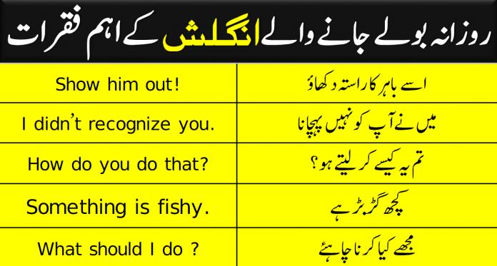 Spoken English Sentences with Urdu Translation |100 PDF