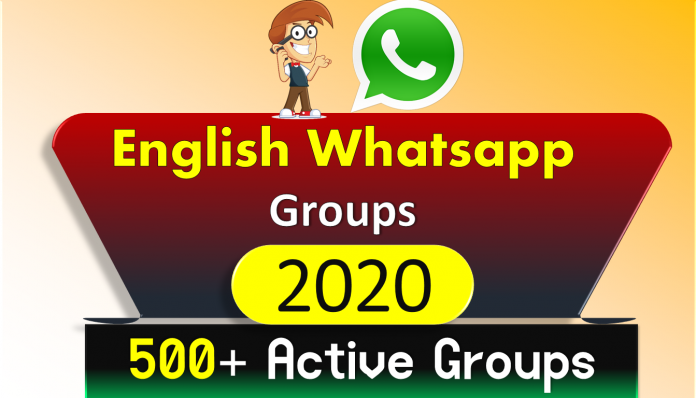500+ Active English WhatsApp Groups Links For Speaking Practice 2020