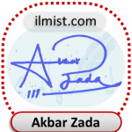 Akbar Zada Signatures