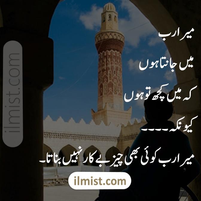 Allah Quotes in Urdu For WhatsApp Status