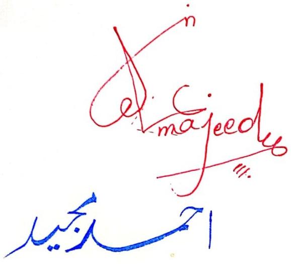 Ahmad Majeed