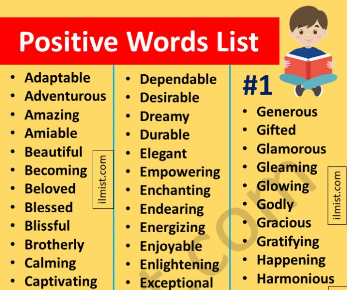 Positive Words List